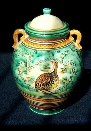 Orzas serie esmeralda puente del arzobispo cer mica for Ceramica talavera madrid