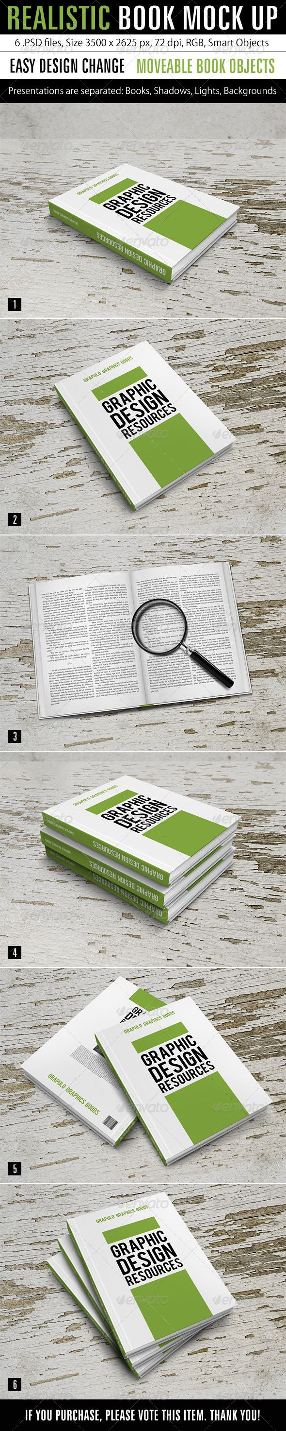 57 best PSD Book Mockup images on Pinterest | Mock up, Broschüren ...