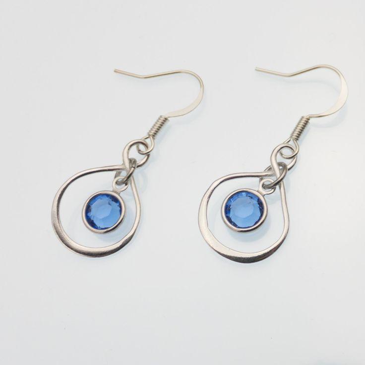 New to CathysCreationsJwlry on Etsy: Silver Infinity Earrings - Bride's Maid Earrings - Wedding Jewelry - Sterling Silver Infinity Earrings - Infinity Jewelry - Eternity Earring (30.00 USD)