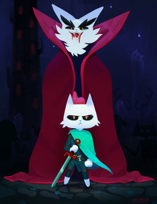 Night In The Woods Demon Tower fanart by Remulle on Tumblr