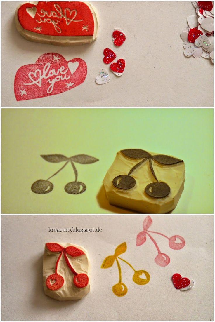 Kreacaro: Valentinsgeschenke Stempel