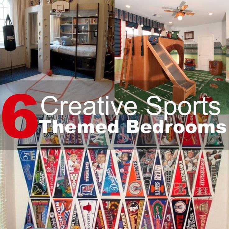 Best 25 Sports Themed Bedrooms Ideas On Pinterest: 17 Best Ideas About Sports Themed Bedrooms On Pinterest