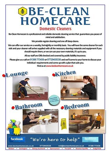 Be-Clean Homecare