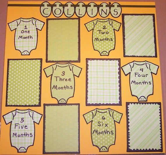 baby boy scrapbook pages | visit etsy com