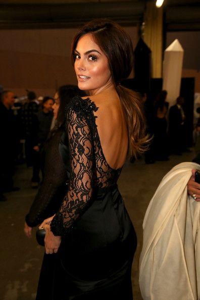 Ximena Navarrete - Backstage at the Latin Grammy Awards