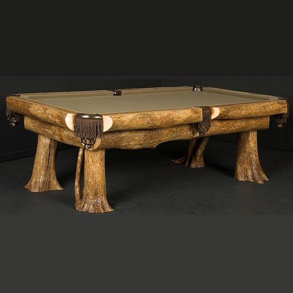 Awesome Wooden Pool Table