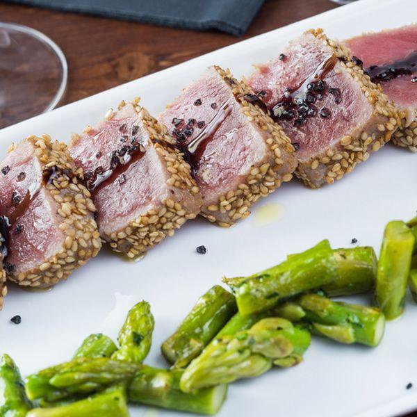 Tuna Fillet in Sesame Crust Recipe... Italian awesomeness!