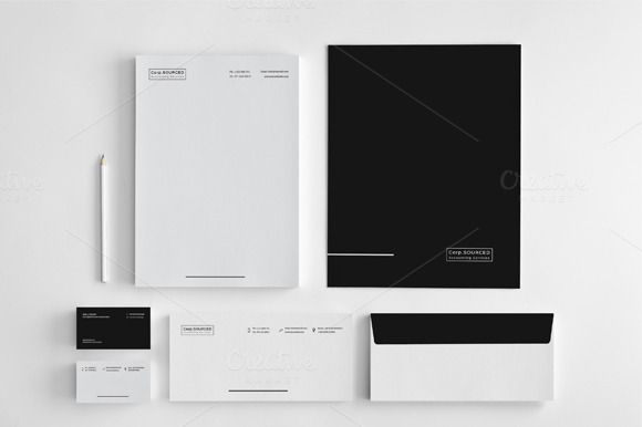 Minimalist  Stationery vol.3 by felicidads on @creativemarket
