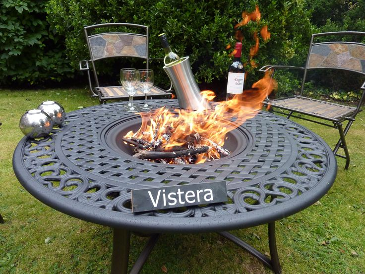 Gas Fire Pit Table Uk   Patio Design Ideas, Pictures, Remodel and ...