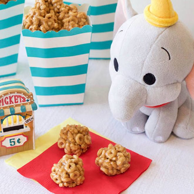 Dumbo's Circus Peanut Butter Clusters
