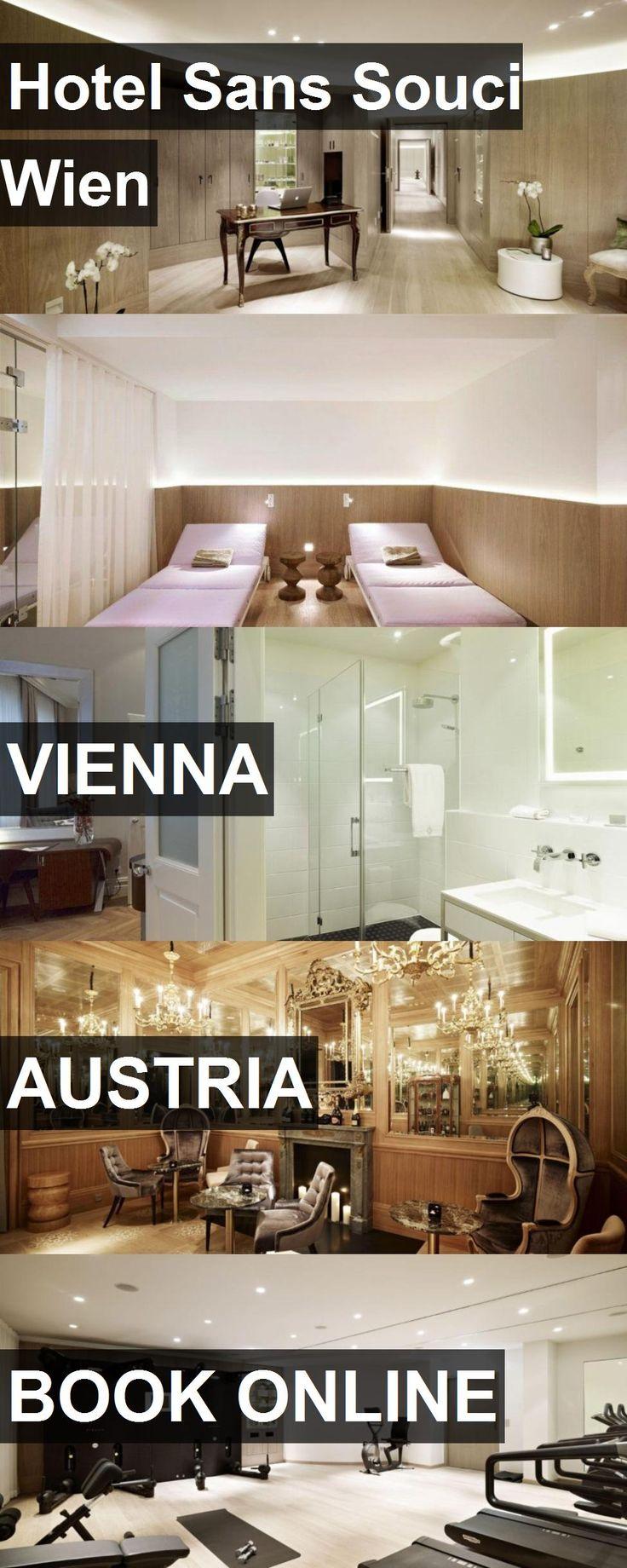 Hotel Hotel Sans Souci Wien in Vienna, Austria. For more information, photos, reviews and best prices please follow the link. #Austria #Vienna #HotelSansSouciWien #hotel #travel #vacation