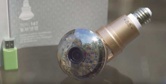 La cámara de seguridad WiFi 'Tovnet' se adapta a cualquier toma de luz