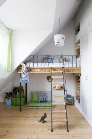loft bed by eddie