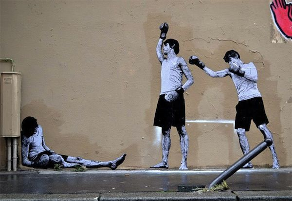 Funny Paste-On Street Art That Interacts With The Surroundings - DesignTAXI.com