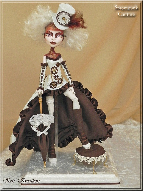 Steampunk Couture | Monster High Custom Repaints
