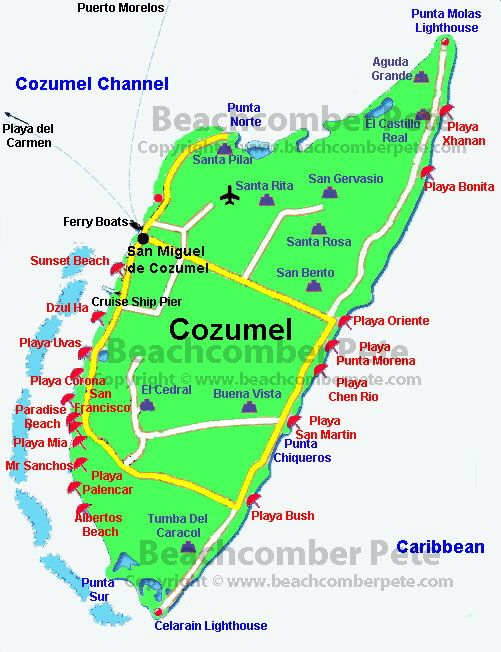Cozemel Mexico= our family cruise