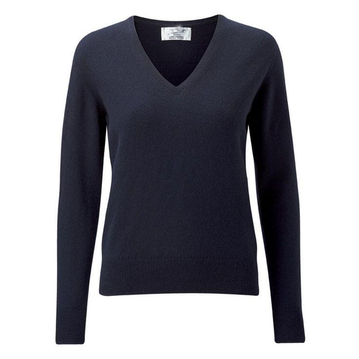 V Neck Lambs wool sweater