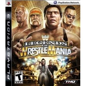 WWE Legends of Wrestlemania Japanese Format (NTSC-J). Box,package,