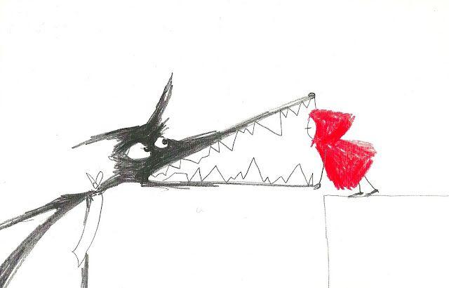 #so65 #cappucetto rosso Una caperucita roja - Marjolaine Leray