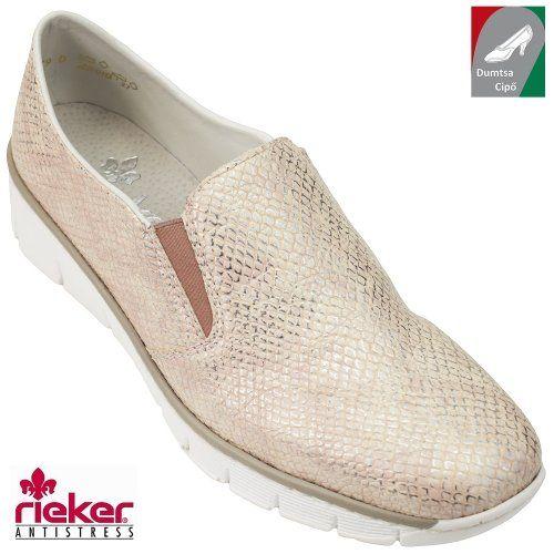 Rieker női cipő 53750-21 rózsaszín  0ba70c8231