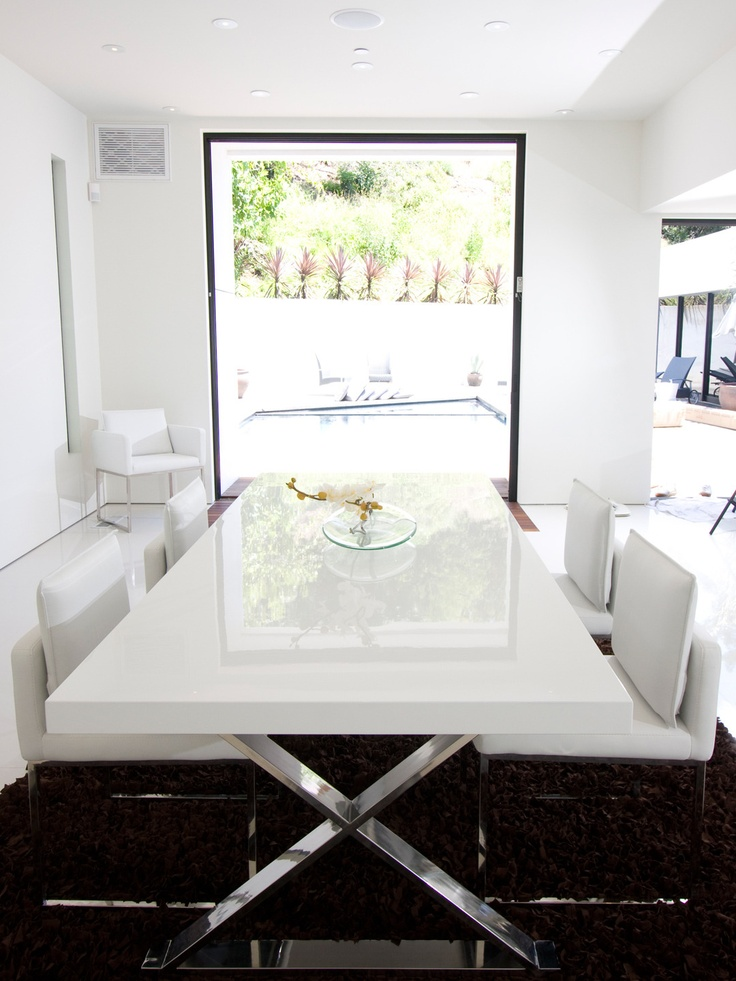 Pangea Home X Leg Dining Table
