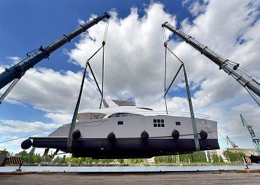 Sunreef Yachts Launches Blue Belly
