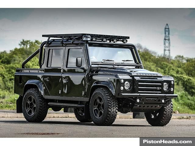 used rich brit edition land rover defender 110 x. Black Bedroom Furniture Sets. Home Design Ideas