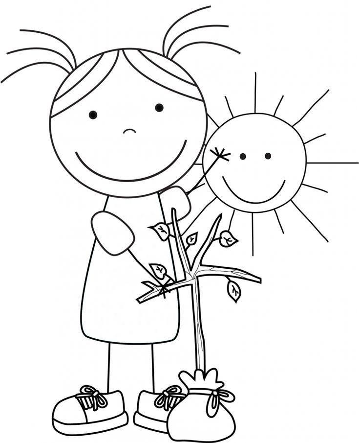 malvorlagen umweltschutz und kostenlos - kinder zeichnen