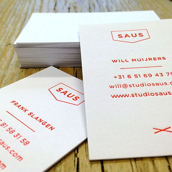 Studio Saus Business Card | Business Cards | The Design Inspiration