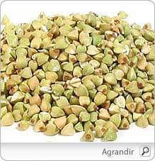 Sarrasin il est notamment exempt de gluten et plus riche en protéines. On le consomme toutefois comme une céréale.Le sarrasin est un prébiotique