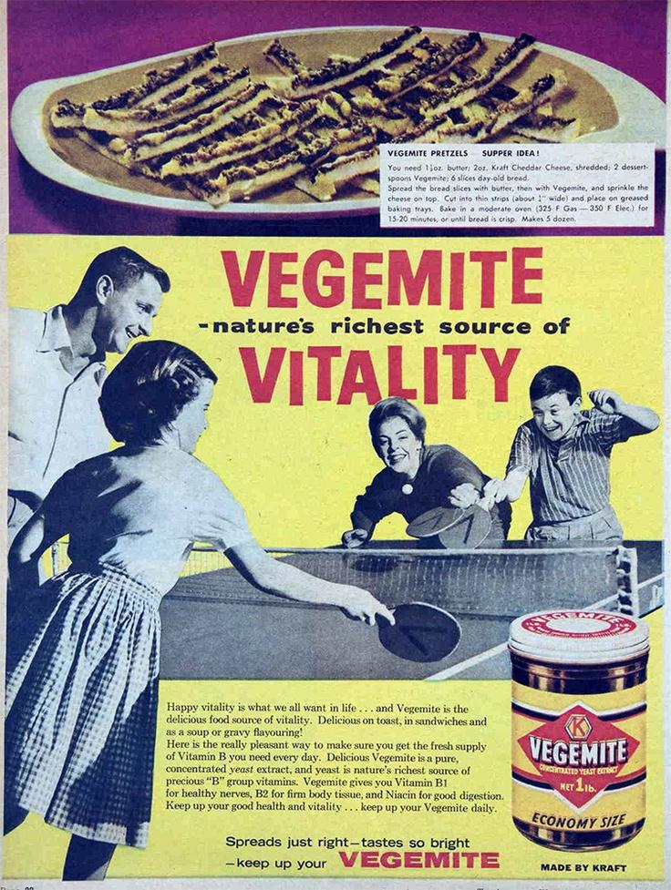 vintage australian poster | vegemite