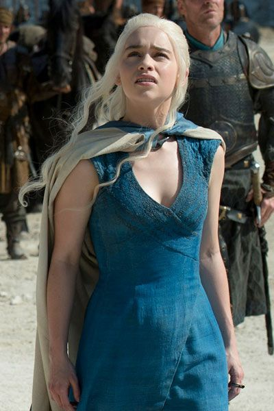 Khaleesi's Blue Dress | Fashion Inspiration | Pinterest ...