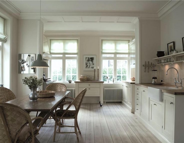Shadow White by Farrow and Ball is near Tapestry Beige by Benjamin Moore.  Thanks to Laurel Bern Interiors.