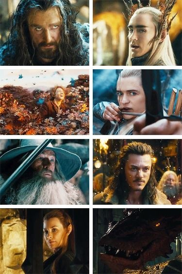 The Hobbit: The Desolation of Smaug....AHHHHH!!!!!! LOOK! LOOK! IT'S SMAUG!!!!