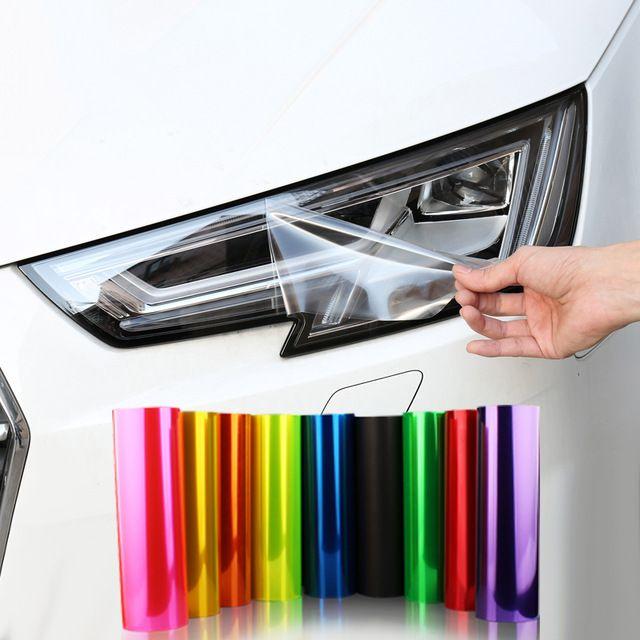 New Auto Car Smoke Fog Light Headlight Taillight Tint Vinyl Film Sheet Stickers