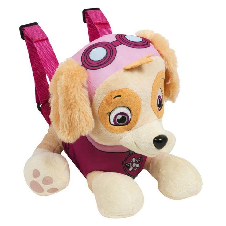 Paw Patrol Skye Soft Plush Backpack  £19.99