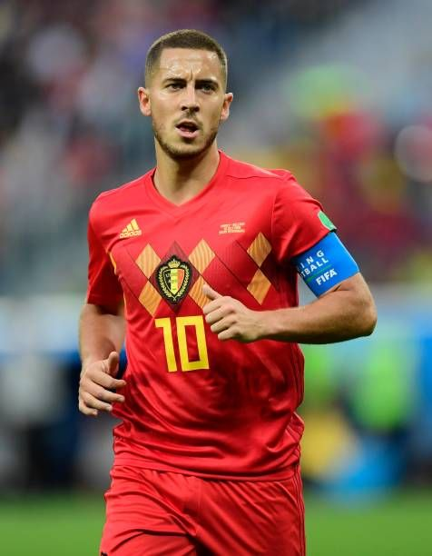 362d725da Eden Hazard midfielder of Belgium during the FIFA 2018 World Cup Russia  SemiFinal match between France and Belgium at the Saint Petersburg Stadium  on.