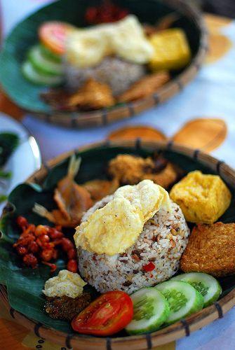 Indonesian Nasi Tutug Oncom