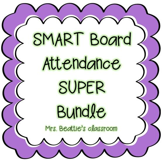 This *super* deal at Mrs. Beattie's Classroom gets you all current SMART Board attendance files, plus any uploaded in the future, at a super-low price! Someone having a birthday? Whoooo's Here? What's happening under the Big Top? Your students will LOVE checking in each morning using these easy-to-use attendance files!