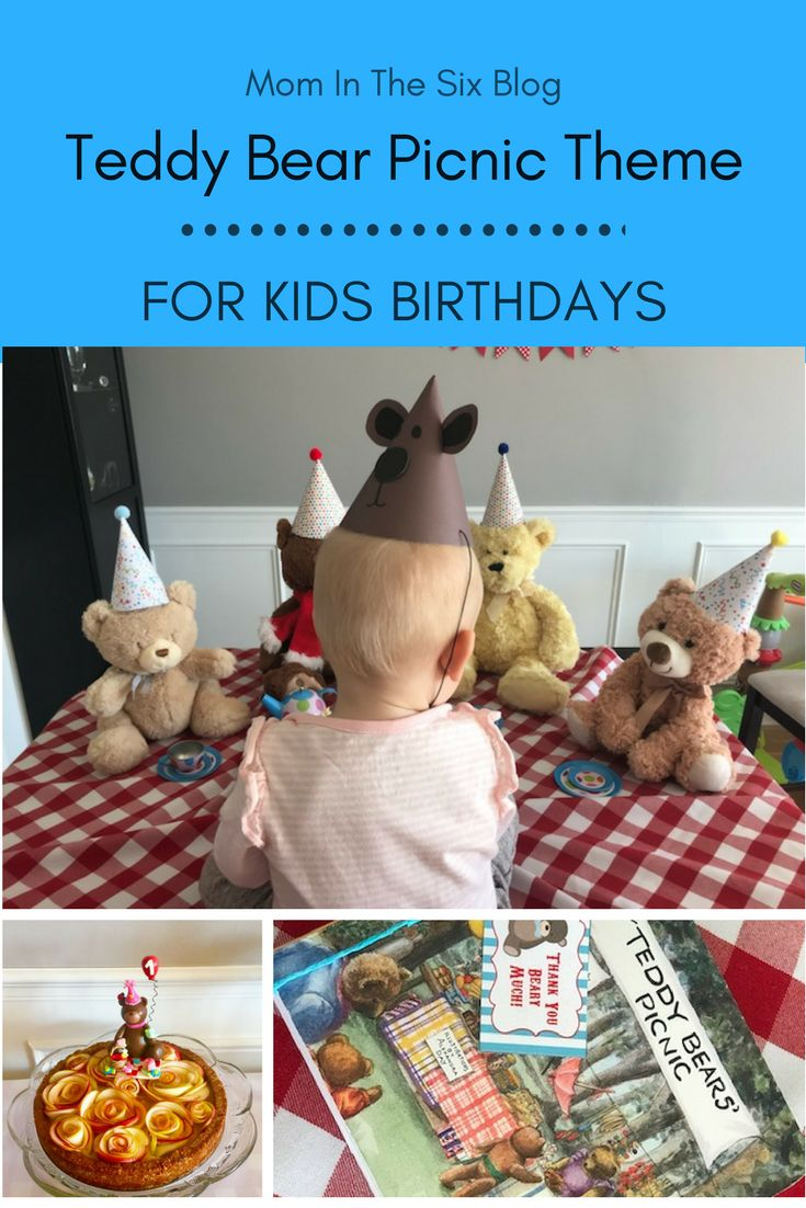Tips for Throwing a Teddy Bear Picnic Themed Birthday - Mom in the Six