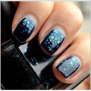 : Deborah Lippmann, Nails Art, Prom Nails, Across The Universe, Universe Nails, Nails Polish, Univ Nails, Sparkly Nails, Nails Lacquer