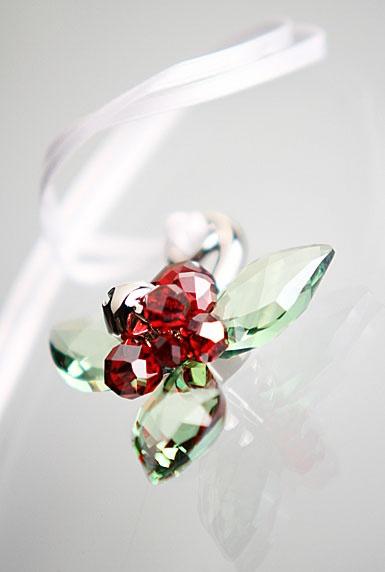 Swarovski Winter Berries Ornament