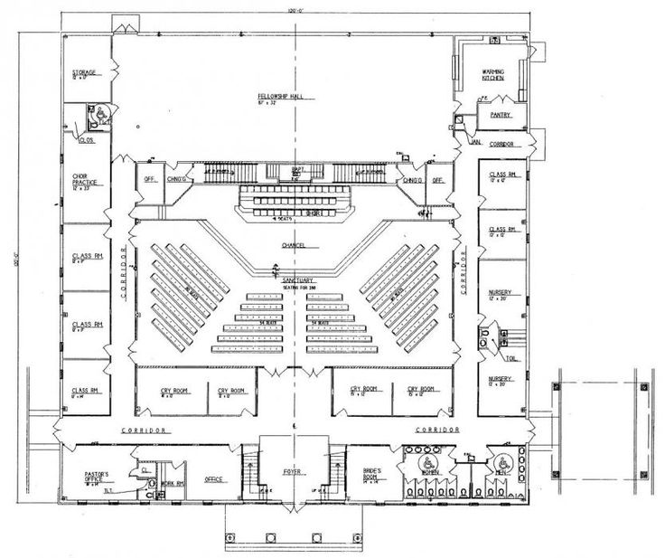 53 Best Church Design Floor Plan Images On Pinterest Church Building Floor Plans And