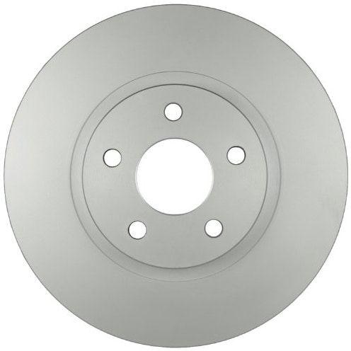 Bosch 48011208 QuietCast Premium Disc Brake Rotor, Front, Silver aluminum