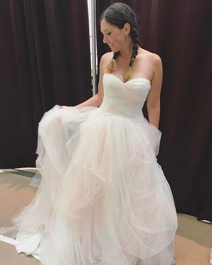 Ombre Wedding Dress David's Bridal