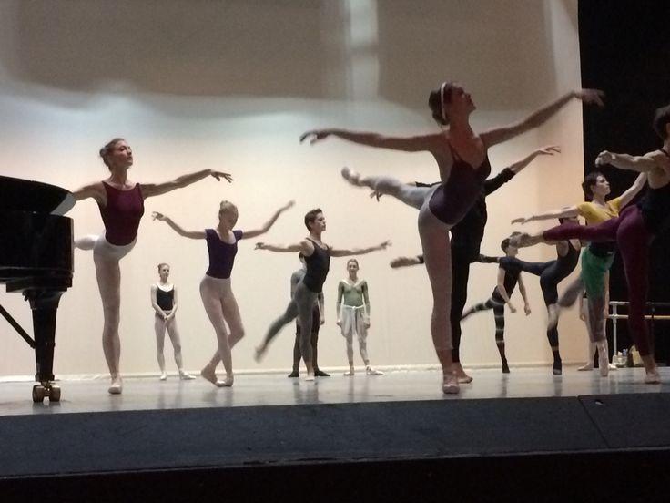 Den Kongelige Ballet - morgentræning