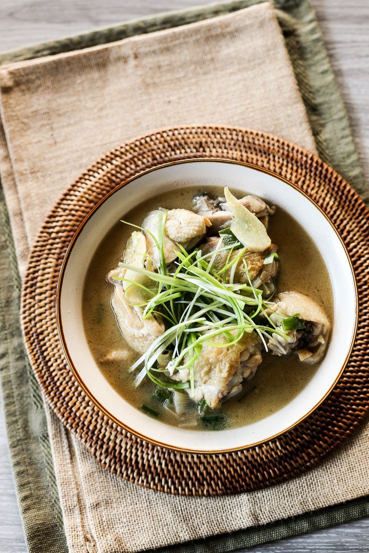 Taiwanese Sesame Oil Chicken Soup - Ang Sarap