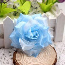 10ks 6 cm hodvábne ruže umelé kvety svadobné dekorácie DIY umelé ruže koláž skutočný dotyk umelé kvety ruže (Čína (pevninská časť))