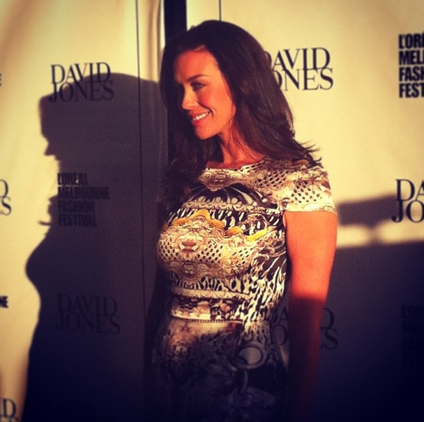 Day Two: The always beautiful Megan Gale #lmffnow
