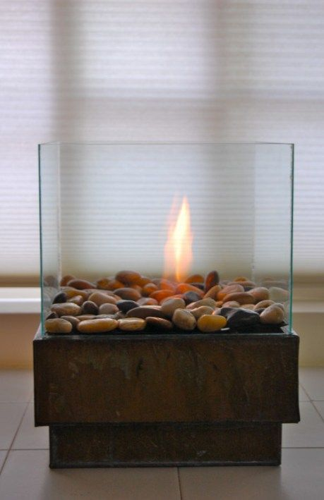 DIY Indoor Fire Pit
